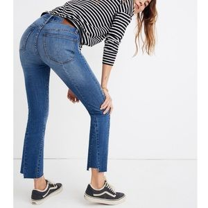 Madewell Cali Demi-Boot Jeans Back-Seam Edition